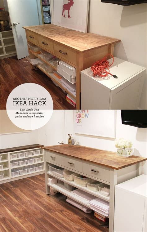 ikea hacking  varde unit ikea pinterest muebles