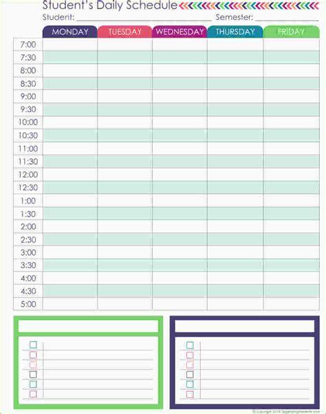 schedule planner template 4 daily schedule planner ganttchart template
