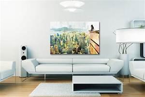 Tableau Salon Design : tableau salon izoa ~ Teatrodelosmanantiales.com Idées de Décoration