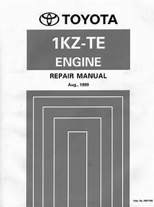 Toyota 1kz-te Motor Repair Manual