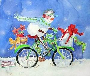 Cartes de Noël Inspiration à l eau