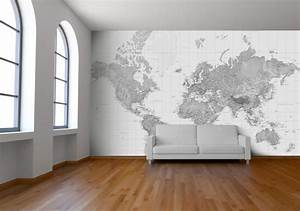 Black and White Wallpaper Wall Mural