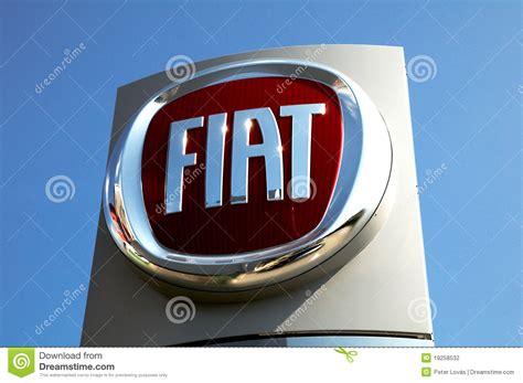 Fiat Logo Editorial Photography. Image Of Company, Italy