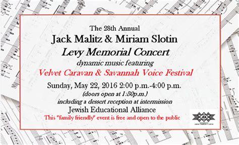 Educating music professionals in savannah. Savannah VOICE Festival FREE Levy Memorial Concert