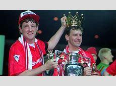 Steve Bruce Bryan Robson Manchester United Goalcom