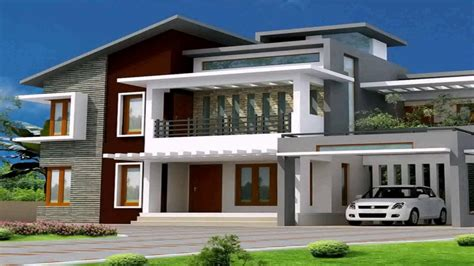 Modern Bungalow House Plans In India YouTube