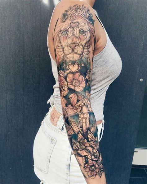 sleeve tattoos  women ideas  designs  girls