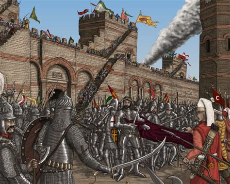 the siege of constantinople siege of constantinople byzantine war