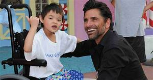 stamos brings cheer to with serious illnesses