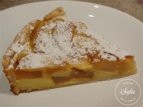 curcuma cuisine tarte aux pommes à la crème anglaise la tendresse en cuisine
