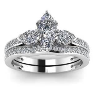 marquise wedding set marquise 3 engagement ring wedding set engagement rings review
