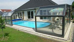 Abri Haut Piscine : quel est le prix d 39 un abri de piscine ~ Premium-room.com Idées de Décoration