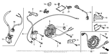 honda engines gx390ut2 qnr2 engine tha vin gcbct 1000001 parts diagram for ignition coil 2