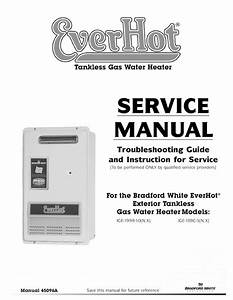 Service Manual     1 Service Manual Tankless Gas Water