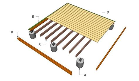 8x8 floating deck plans 12 x 12 wood deck plans ground level deck plans free