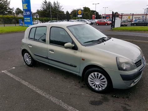Renault Clio 2002 by Renault Clio 2002 In Londonderry County Londonderry