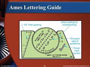 section 1 introduction to drafting ppt video online download With drafting lettering guide