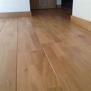 parquet chene massif francais trio 14mm rt2n brut ponce With parquet flottant massif chene