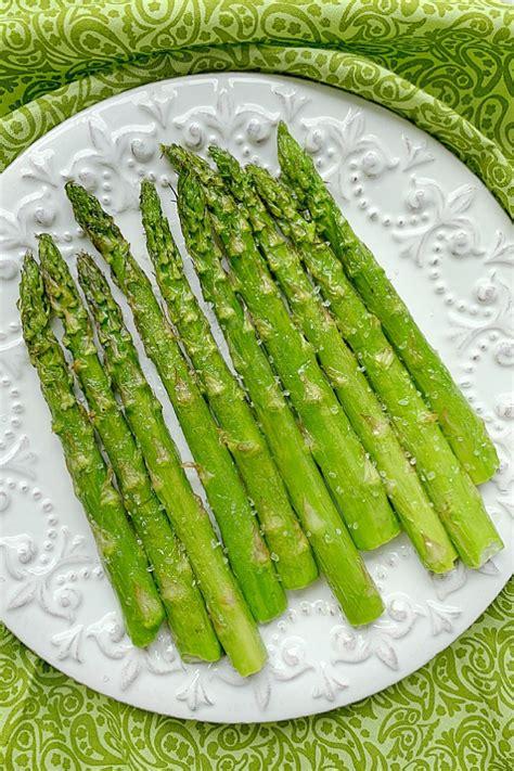 fryer air asparagus plate