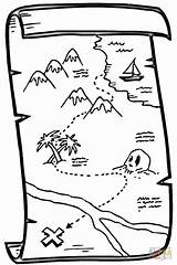 Treasure Map Printable Coloring Maps Pirate Outline Supercoloring Regard Drawing Egypt Through Youngsters Subjects Numerous Inform Websites Teaching Them Visit sketch template