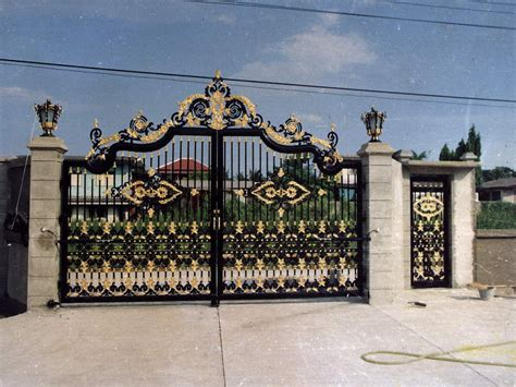 iron gates design gallery  images luxury house design