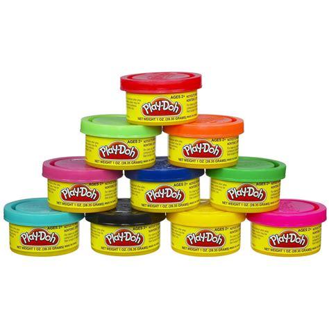 mini play doh tubs hasbro play doh pack with 10x 28g mini tubs