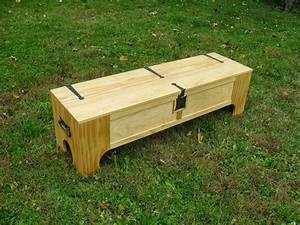 It Looks Like A Bench, But It Turns Into A Bed In A Box