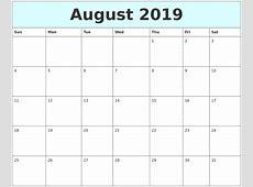September 2019 Printable Calendar monthly printable calendar