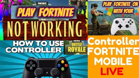 play  controller support  fortnite mobile
