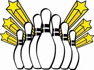 Clipart - Bowling pins