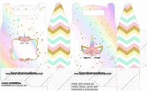 Unicorn and Rainbow: Free Printable Boxes. | Oh My Fiesta ...