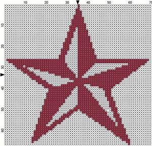 Gatuxedo A Blog About Stitching Autumn Star Cross