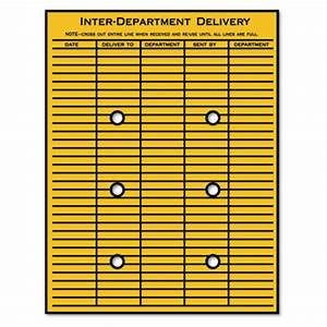 Quality parktm brown kraft string button interoffice for Interoffice envelope template cover