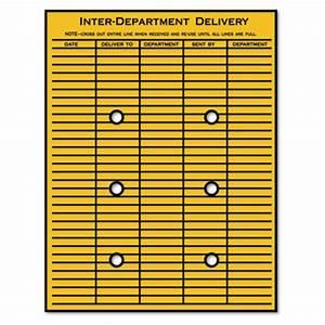 quality parktm brown kraft string button interoffice With interoffice mail envelope template