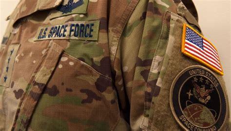 space force uniforms showing uniform