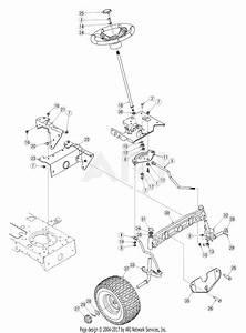 Troy Bilt 13aj609g766 Bronco  2005  Parts Diagram For