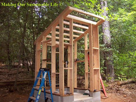 diy outhouse plans diy   timber garden