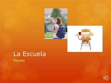 Repaso De Unidad 2 Español 1 Final Authorstream