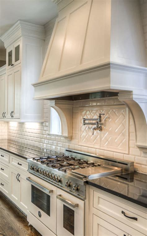 Kitchen Vent Styles by Cabinet Color Kitchens Kitch