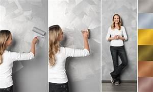 Effektfarbe für die Wand: Glitteroptik [SCHÖNER WOHNEN]