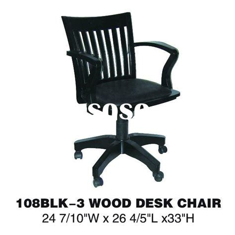 adjustable height wood chair with arms 105fw for sale