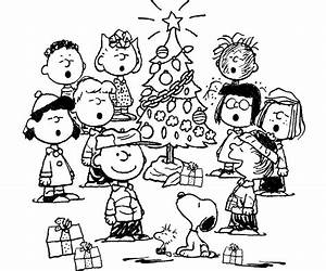 Charlie Brown Christmas Coloring Pages - AZ Coloring Pages