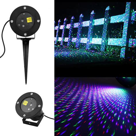 Rgb Auto Moving Firefly Laser Projector Lawn Light Outdoor