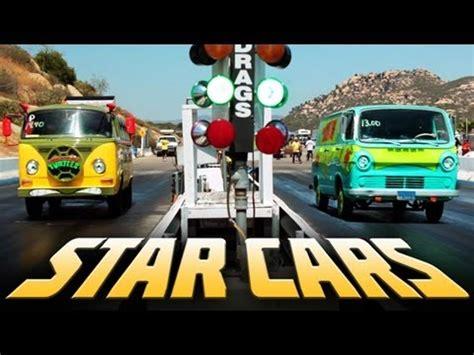 16 Famous Movie Cars On An Epic Drag Race Battle