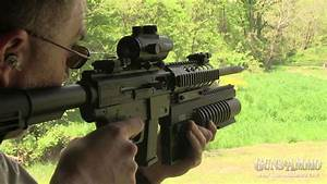 At The Range  Just Right Carbine 9mm With B U0026d 37mm