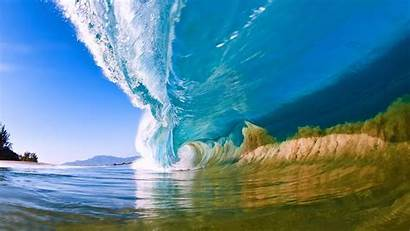 Ocean Wave Desktop Waves Natural Summer Wallpapers