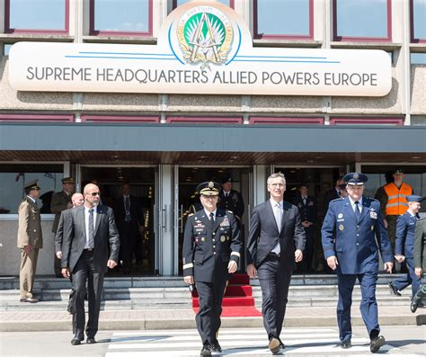 supreme headquarters allied powers europe nato foreign ministers 2 day summit to kick in brussels
