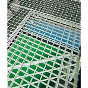 Grille Caillebotis Acier Galvanisé : marche escalier caillebotis en acier galvanis 800 x 230 mm ~ Edinachiropracticcenter.com Idées de Décoration