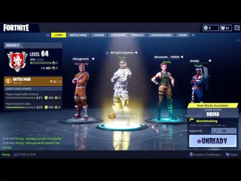 fortnitesnd usernames ps     play youtube