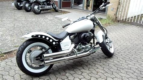 Yamaha Xvs 650 Fat-white-bobber-roadkiller-umbau Www